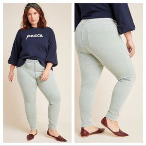 ANTHROPOLOGIE Pilcro High-Rise Skinny Pants NWT